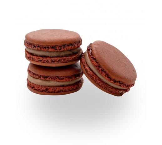 Macaron ciocolata